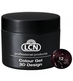 Colour Gel - 3D Design 5 m - Rouge Noir
