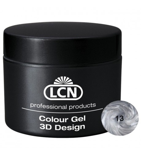 Colour Gel - 3D Design 5 m - Silver Coin