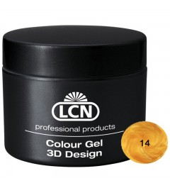 Colour Gel - 3D Design 5 m - Gold Bar