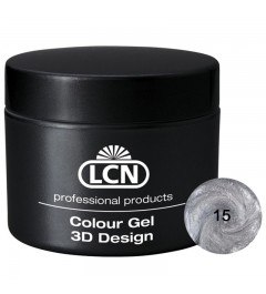 Colour Gel - 3D Design 5 m - Silver Sparkle