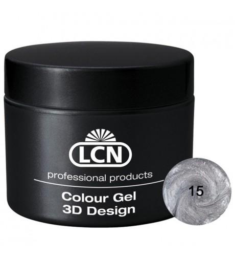 Colour Gel - 3D Design 5 m - Silver Sparkle