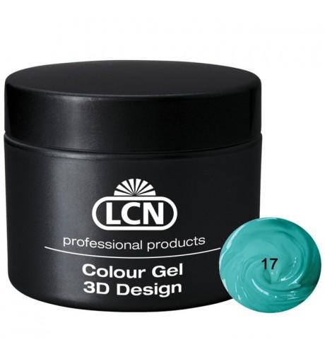 Colour Gel - 3D Design 5 m - Turquoise sea