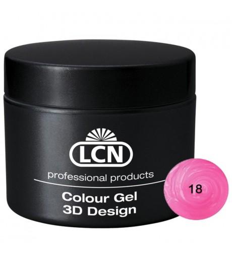 Colour Gel - 3D Design 5 m - Fancy pink