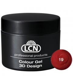 Colour Gel - 3D Design 5 m - Dark red