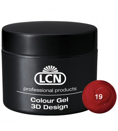 Colour Gel - 3D Design 5 m - Dark red