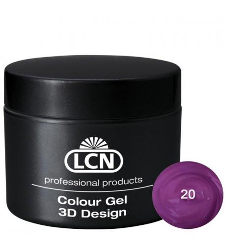 Colour Gel - 3D Design 5 m - Purple rain