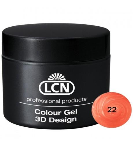Colour Gel - 3D Design 5 m - Orange juice