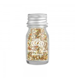 Glitter Dust Shaker - gold multi