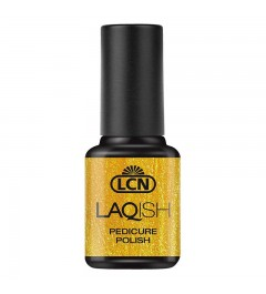 LAQISH Pedicure Polish, 8 ml - gold is my best friend
