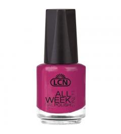"""Nail Polish """"All Week Long"""", 16 ml - think pink"""