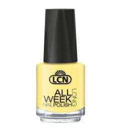 """Nail Polish """"All Week Long"""", 16 ml - life hands you a lemon – make lemonade!"""