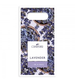 Lavender Handle Bag small, Hand Cream 50 ml + vegetable oil soap 100 g