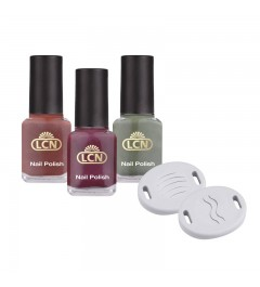 """Set """"Magnetic Nail Polish, new colours"""""""