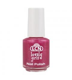 Nail Polish Lovely girls 5 ml - pink glitter