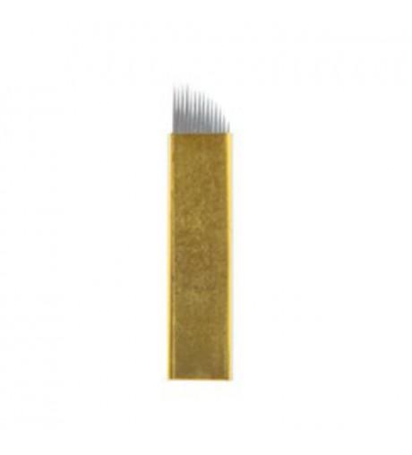 Micro-Blading Blades 14 punte Hard  5 pz