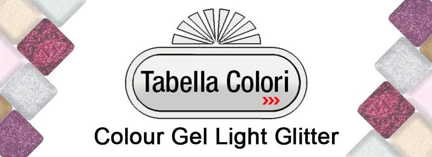 Light Glitter Colour Gel