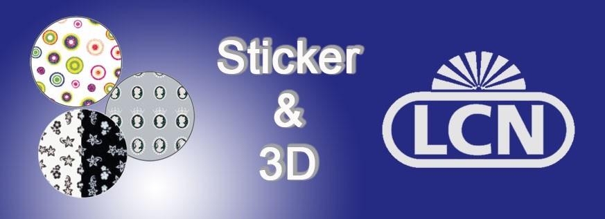 Sticker & 3D